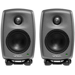 "Genelec Classic Series 8010A 3"" Two-Way Active Studio Monitor (Pair)"