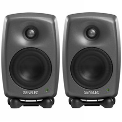 "Genelec Classic Series 8020D 4"" Two-Way Active Studio Monitor (Pair)"