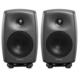 "Genelec Classic Series 8030C 5"" Two-Way Active Studio Monitor (Pair)"