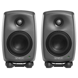 "Genelec 8320A 4"" Powered Studio Monitor (Pair) w/ FREE GLM Kit"