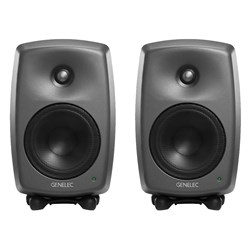"Genelec 8330A 5"" Powered Studio Monitor (Pair) w/ FREE GLM Kit"
