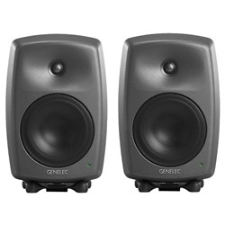 "Genelec 8340A 6.5"" Powered Studio Monitor (Pair) w/ FREE GLM Kit"