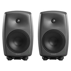"Genelec 8350A 8"" Powered Studio Monitor (Pair) w/ FREE GLM Kit"