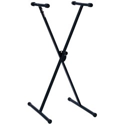 Hamilton KB400K Single X Style Keyboard Stand (Bolt-on Construction)