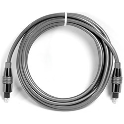 Hosa OPM-315 Toslink to Same Pro Fiber Optic Cable (15ft)