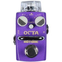 Hotone Octa Digital Octave Stompbox for Guitar & Bass