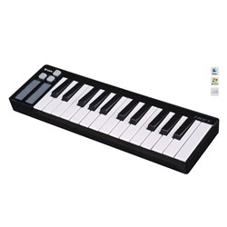 ICON iKey Compact 25-Key Velocity-Sensitive Keyboard (Black)