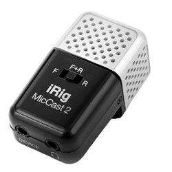 IK Multimedia iRig Mic Cast 2 Voice Recording Microphone for Android & iOS