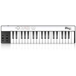 IK Multimedia iRig Keys w/ Lightning for iOS, Mac & PC