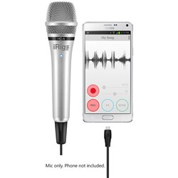 IK Multimedia iRig Mic HD-A Handheld Mic for Android