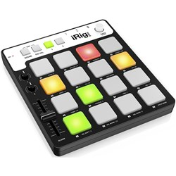 IK Multimedia iRig Pads MIDI Pad Controller For iOS & USB