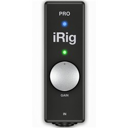 IK Multimedia iRig Pro Audio MIDI Interface For iOS