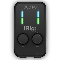 IK Multimedia iRig Pro Duo I/O Mobile 2-channel audio/MIDI Interface