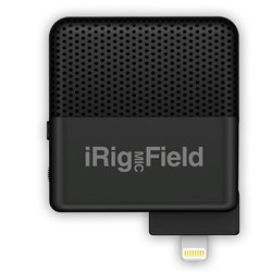 OPEN BOX IK Multimedia iRig Mic Field Microphone for iOS Devices