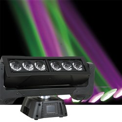 Infinity iFX615 Pro Moving RGBW Moving Head Battern (6 x 15W RGBW)