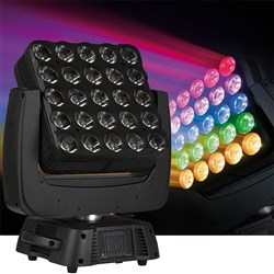 Infinity iM2515 Pro Moving RGB Matrix Moving Head (25 x 15W RGBW)