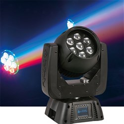 Infinity iW720 Pro LED Moving Head LED RGBW Wash with Zoom (7 x 20W RGBW)