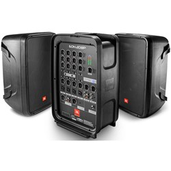 "JBL EON208P Portable 8"" 2-Way PA System w/ Powered 8-Channel & Bluetooth"