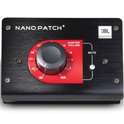 JBL Nano Patch+ Plus Compact 2 Channel Passive Volume Control (Black)