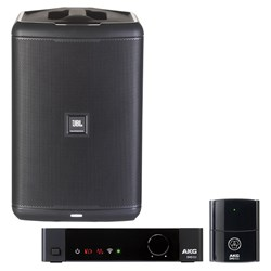 JBL EON ONE COMPACT Mono PA Pack w/ AKG DMS100 Instrument Wireless Kit