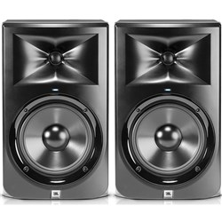 "OPEN BOX JBL LSR308 8"" Two-Way Powered Studio Monitors (Pair)"