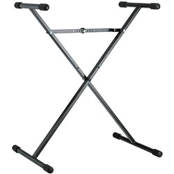 Konig Meyer 18962 Single Tier Keyboard Stand (Black)