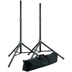 Konig & Meyer 21449 Speaker Stand Package w/ Gig Bag