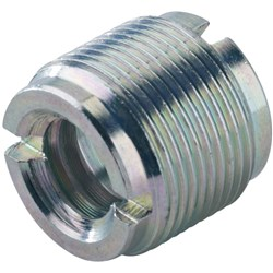 "K&M 215 Thread Adaptor (1/2"" & 3/8"" Female Thread, 5/8"" 27 Gauge Male Thread)"
