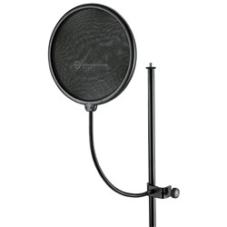 Konig & Meyer 23966 Popkiller Large Pop Filter (Black)