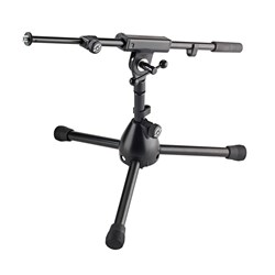Konig & Meyer 25950 Microphone Stand - Extra Low Design for Bass Drums (Black)