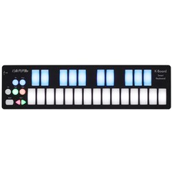 Keith McMillen K-Board 25-Key LED Backlit USB MIDI Keyboard For Computers & Tablets