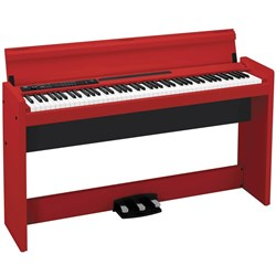 Korg LP-380 Digital Piano - Red
