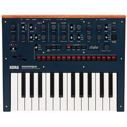 Korg Monologue Monophonic Analogue Synthesizer (Blue)