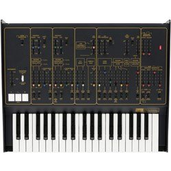Korg ARP Odyssey FS Duophonic Synthesizer Rev2 (Full-Size Limited Edition Black/Gold)