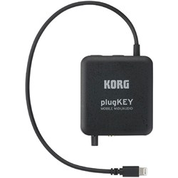 Korg PlugKEY Mobile Audio/MIDI Interface (Black)