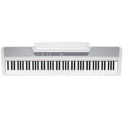 Korg SP-170S 88-Key Hammer Action Stage Piano (White) w/ FREE Keyboard Stand
