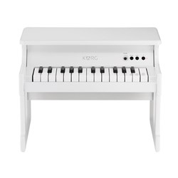 Korg tinyPIANO Digital Toy Piano (White)