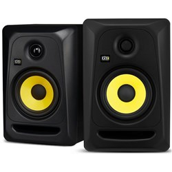 "KRK Classic 5 5"" Professional Powered Studio Monitors (Black Pair)"