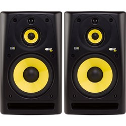 "KRK RP10-3 G3 10"" 3-Way Studio Monitors (Black Pair)"