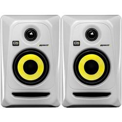"KRK ROKIT RP4G3 4"" Studio Monitors (White Pair)"