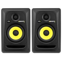 "KRK ROKIT RP5G3 5"" Studio Monitors (Black Pair)"
