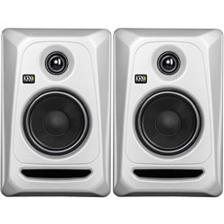 "KRK ROKIT RP5G3 5"" Studio Monitors (Silver Black Pair)"