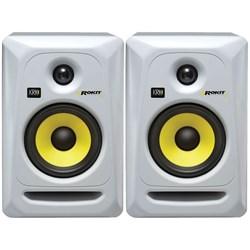 "KRK ROKIT RP5G3 5"" Studio Monitors (White Pair)"