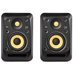 "KRK V4 S4 Powered 4"" Studio Monitors (Pair) (Black)"