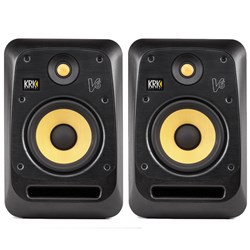 "KRK V6 S4 Powered 6"" Studio Monitors (Pair) (Black)"