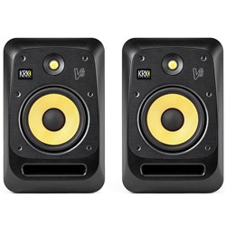 "KRK V8 S4 Powered 8"" Studio Monitors (Pair) (Black)"