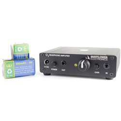OPEN BOX Mayflower Black Objective 2 Portable / Desktop Headphone Amp (0008)