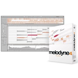 Celemony Melodyne 4 Studio (Full Version - Boxed Copy)