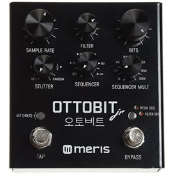 Meris Ottobit Jr Bitcrush & Stutter FX Pedal (inspired by Vintage Gaming Consoles)