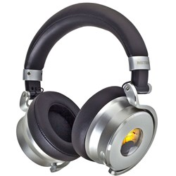 Meters Music OV-1 Over Ear Noise Cancelling Headphones w/ VU Meter (Black)